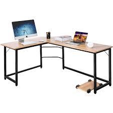 Image Computer Desk Banggood Modernluxe Lshaped Office Desk Corner Computer Pc Table Laptop Desk Workstation For Home Office