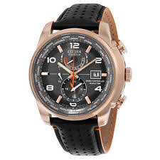 mens citizen gold watch new mens citizen eco drive at9013 03h world time a t rose gold