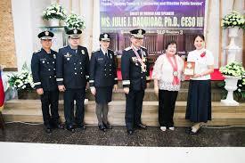 Plaque of Appreciation Awarded to Mayor Eleanor D. Dominguez ...