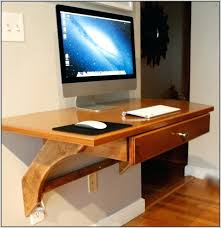 in wall computer desk wonderful wall mounted desk ideas alluring home design inspiration with wall mounted
