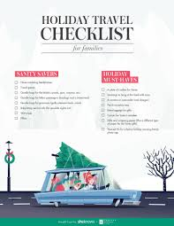 Save Your Sanity With This Family Holiday Travel Checklist Sheknows