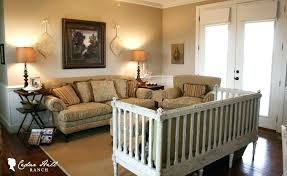 living room ideas leather sofa brown