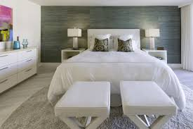 Romantic Sensual Bedroom In Modern Design With With Dramatic Accent Wall  (Image 13 of 18