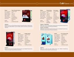 Vending Machine Brochure Amazing Retailer Of Tea Coffee Vending Machines Nescafe Vending Machine