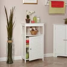RiverRidge Home Ellsworth Single Door Floor Cabinet White