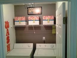 Laundry Room Storage Ideas With Wicker Basket And Floating Shelves: Small Laundry  Room Storage Ideas