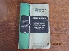 john deere tractor operators manual john deere tractor operators manual corn cultivators 820 a820 b820 series vtg