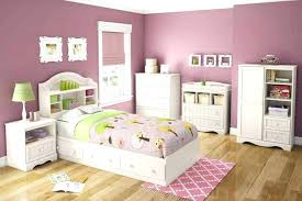 Creative Idea Girls White Bedroom Furniture Sets Pink Decorating ...
