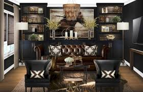 masculine home office. Stylish Masculine Home Office Design Ideas (2)