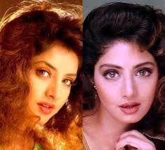Displaying (18) Gallery Images For Divya Bharti And Salman Khan. - 121010020511divya-sri_G