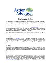 Letter Of Recommendation For Adoptive Parents Sinma