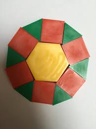 Pattern Blocks Simple Pattern Block Dodecagons wwwMathEdPageorg