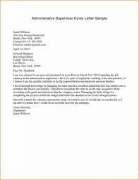 Cover Supervisor Letter Executive Report Template Hospital