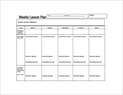 lesson plans sheet weekly lesson plans expin franklinfire co