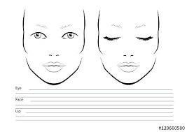 Free Printable Face Charts For Makeup Artists Mac Makeup Blank Face Charts Lajoshrich Com