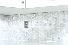 hexagon carrara tile marble hexagon tiles how to install a marble hexagon tile just a girl