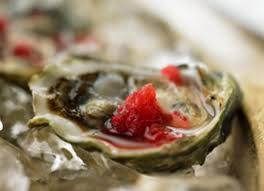 Oysters with Mignonette Granité Recipe ...