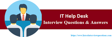 Interview Questions For Help Desk Top 35 It Help Desk Interview Questions And Answers 2019
