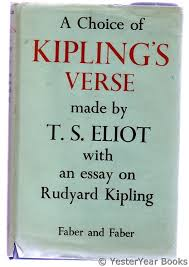 yesteryear books rare used and out of print books a choice of kipling s verse an essay on rudyard kipling kipling rudyard