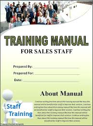 Training Manual Template Luxury Staff Training Manual Template Operations Word Company Sample