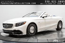 Gallery of 45 high resolution images and press release information. Used 2017 Mercedes Benz S Class Maybach S 650 Cabriolet For Sale 217 995 Perfect Auto Collection Stock 027539