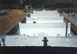 dry stack concrete block walls using surface bonding cement instead of mortar are easy to build