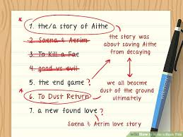 How To Write A Book Title 13 Steps With Pictures Wikihow