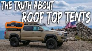 The TRUTH about ROOF-TOP TENT Camping - (watch before you buy, pros ...