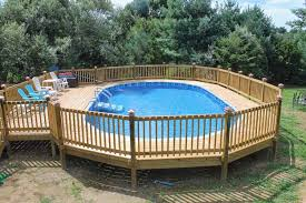 above ground pool with deck. Perfect Above Above Ground Pool Deck Kits Po Ideas And With N