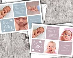 Baby Boy Thank You Cards Baby Thank You Cards Etsy