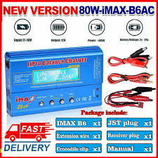 imax b6 lcd screen 80w digital rc lipo