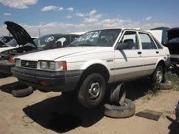 Junkyard Find: 1987 Chevrolet Nova Sedan - The Truth About Cars