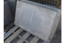 patio slabs. Thick Paving Slabs (Council) - Pressed Concrete Grey Patio