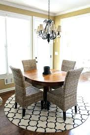 round dining rug medium size of room kitchen table rugs extra within area under decor 10