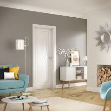 white door. Brilliant White Potenza PreFinished Internal White Door Lifestyle Roomshot  Inside 5