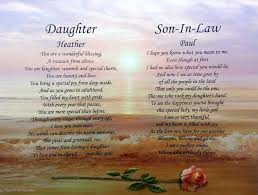 wedding gift ideas for my daughter and son in law ~ imbusy for Wedding Card Verses For Son And Daughter In Law poems for daughters in laws wedding quotes lol rofl com wedding card messages for son and daughter in law
