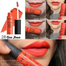 nyx soft matte lip cream san juan