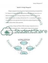 strategic management essay example topics and well written related essays strategic management