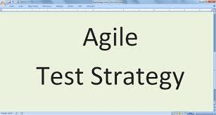 Test Strategy In Software Testing Agile Blog