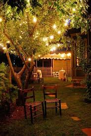 Simple Romantic Backyard Lights