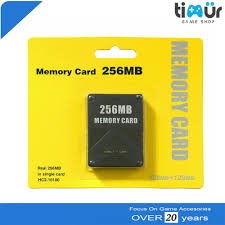 256MB MC PS2 Memory Card Black