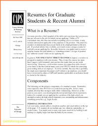 grad school resume inspirational resume template graduate school best  templates
