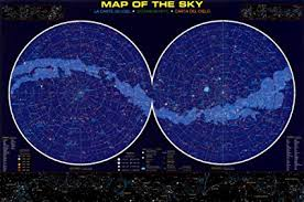 Barewalls Map Of The Sky Poster 24 X 36
