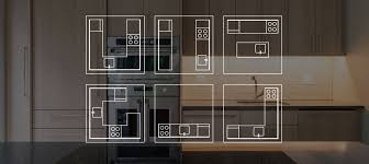 common kitchen layouts design a kitchen layout