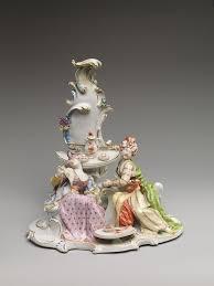 Nymphenburg Porcelain Manufactory Turkish Couple At Coffee