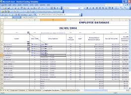 Employee Database Excel Template Employee Database In Excel Template Free Download And Access Crm
