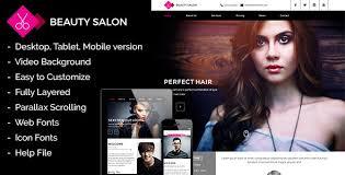 Hair Saloon Websites 11 Beauty Salon Website Templates To Download