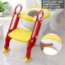 Das gesamte design wurde sowohl vom tüv als auch dem manche toilettensitze für kinder sind an eine treppe angeschlossen. Wc Sitze Toilettentrainer Baby Treppe Kinder Lerntopfchen Baby Toilettensitz Soft Wc Sitz Hc Toilettentrainer Volvocarsmx Com