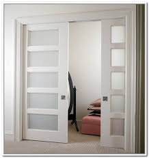 innovative interior doors with frosted glass panels best 10 regard to design 19