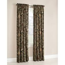 Navy Blue Bedroom Curtains Mossy Oak Break Up Infinity Camouflage Print Window Curtain Panels